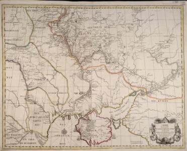 Charte derer von der Russischkeyser. Armee im Iahr 1736 zwischen und an dem Dnieper und Donn wieder die Turcken und Tartarn siegreich unternommenen Kriegs-Operationen
