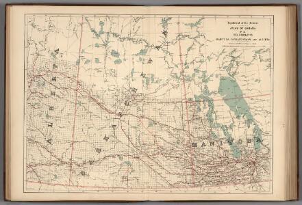 No.12, Telegraphs : Manitoba, Saskatchewan and Alberta