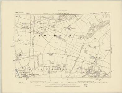Suffolk XXXII.NE - OS Six-Inch Map