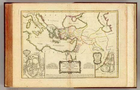 Nouveau Testament, regions, lieux.
