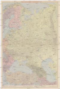 Ravensteinkarte Osteuropa
