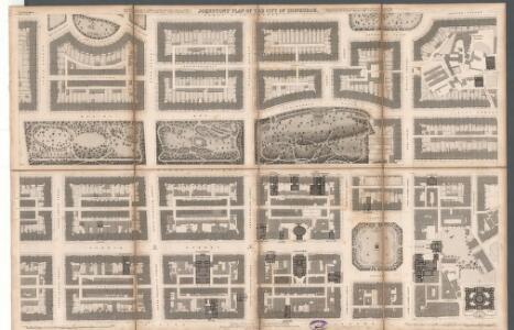 Johnston's plan of the City of Edinburgh.