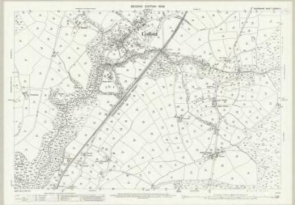 Devon LXXXVIII.13 (includes: Brentor; Bridestowe; Lydford; Marytavy; Petertavy) - 25 Inch Map
