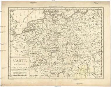 Carte générale d'Allemagne