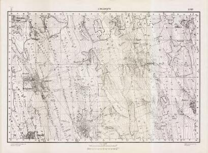Lambert-Cholesky sheet 5161 (Crăeşti)