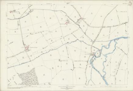 Northamptonshire XIII.9 (includes: Apethorpe; Fotheringhay; Southwick; Tansor; Warmington; Woodnewton) - 25 Inch Map