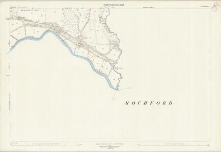 Shropshire LXXXIII.8 (includes: Boraston; Burford; Kington On Teme; Rochford; Tenbury) - 25 Inch Map