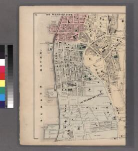 Plates 26 & 27: Portions of 1st, 2nd and 3rd Wards of the City of Yonkers, Westchester Co. N.Y.