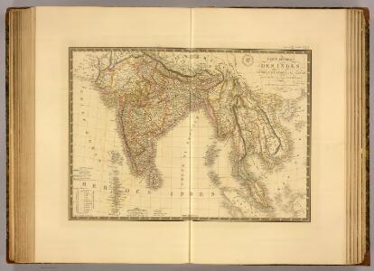 Carte generale des Indes.