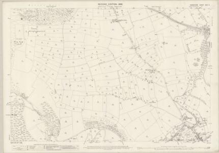 Derbyshire XXIII.6 (includes: Ashford; Great Longstone; Little Longstone; Sheldon) - 25 Inch Map
