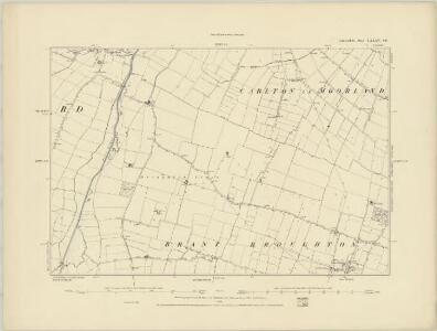 Lincolnshire LXXVII.NE - OS Six-Inch Map