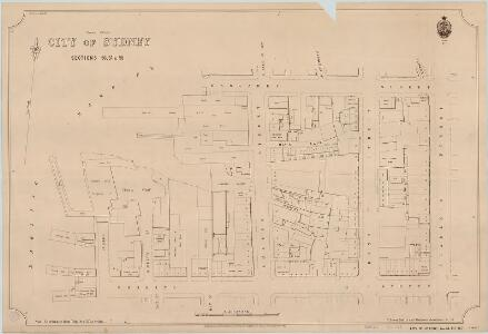 City of Sydney, Sections 56,57 & 58, 1888