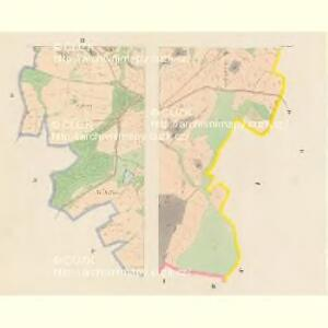Sedlo - c6807-1-002 - Kaiserpflichtexemplar der Landkarten des stabilen Katasters