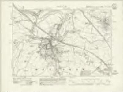Somerset VII.NW & SW - OS Six-Inch Map