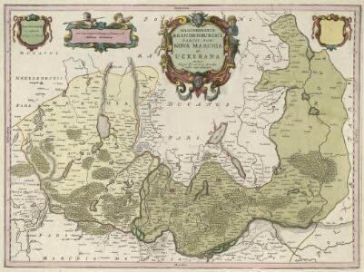 Marchionatus Brandenburgici Partes Duae Nova Marchia et Uckerana