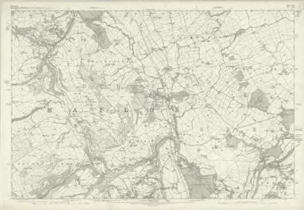 Flintshire XVII - OS Six-Inch Map