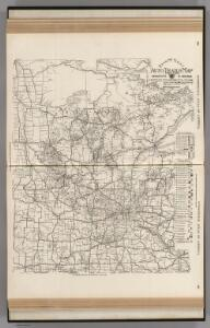 AutoTrails Map, Minnesota, Western Wisconsin.