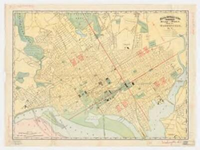 Rand, McNally & Co.'s indexed atlas of the world : map of Washington, D.C
