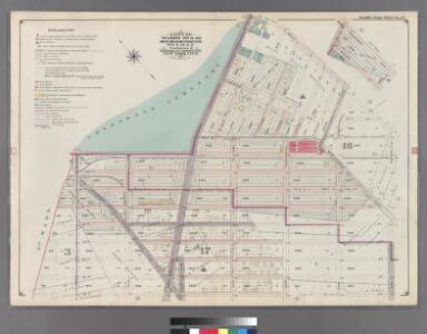 Part of Wards 29 & 30, Land Map Sections, Nos. 3, 16 & 17, Volume 2, Brooklyn Borough, New York City.