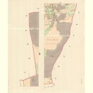 Kattendorf (Kateřinice) - m1167-1-004 - Kaiserpflichtexemplar der Landkarten des stabilen Katasters