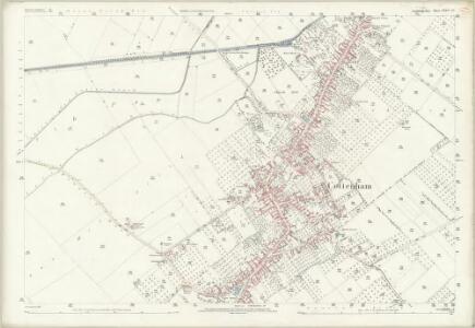Cambridgeshire XXXIV.10 (includes: Cottenham) - 25 Inch Map