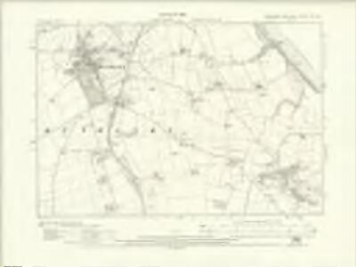 Yorkshire CX.SE - OS Six-Inch Map