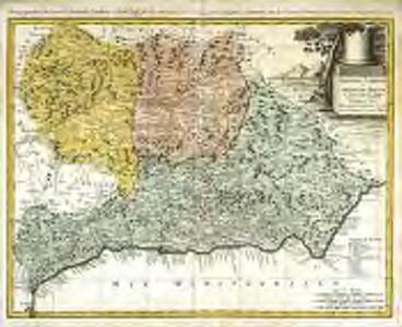 Granadæ, Cordovæ et Gienensis regna