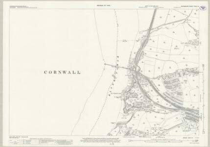Devon CXVII.14 (includes: Devonport; Plymouth; Saltash) - 25 Inch Map