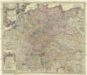 Tabula geographica totius Germaniae