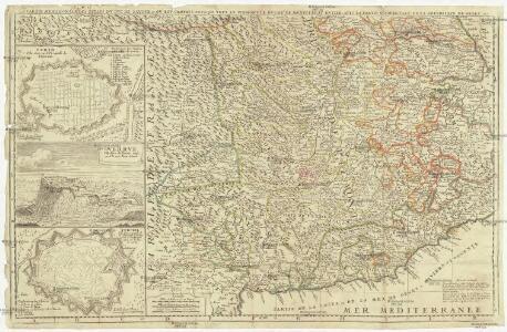La partie meridionale des estats dv dvc Savoye, etc