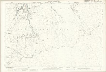 Northumberland (Old Series) CXI.5 (includes: Allendale Common; Alston With Garrigill; Stanhope; West Allen) - 25 Inch Map
