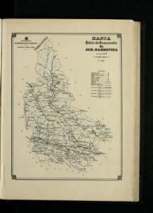 Harta Cailor de Comunicatie din Jud. Dambovita
