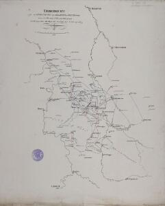 Übersicht der Operationen der Allirten u. Französischen Armee im November 1761, vom Uebergange des Herzogs über die Weser bis zu Ende des Feldzuges