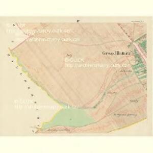 Gross Blatnitz - m0108-1-004 - Kaiserpflichtexemplar der Landkarten des stabilen Katasters