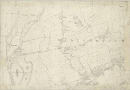 London (First Editions c1850s) I (includes: Tottenham) - 25 Inch Map