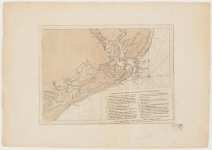 Charts of the coast and harbors of New England : from surveys taken by Saml. Holland Esqr. Survr. Genr. of Lands for the Northern District of North America and Geo. Sproule, Chas. Blaskowitz, Jam.s Grant and Thos. Wheeler his assistants : Coast of Charleston, South Carolina