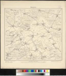 Meßtischblatt 6604 : Monneren, 1882