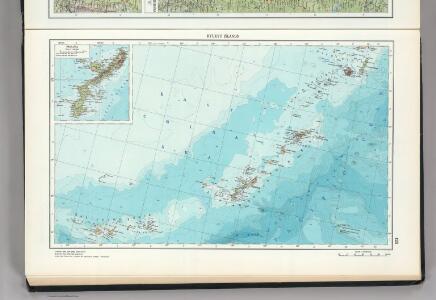 126.  Ryuku Islands.  Okinawa.  The World Atlas.