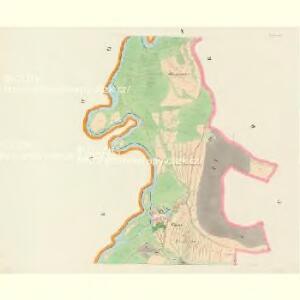 Hodowitz - c1922-1-005 - Kaiserpflichtexemplar der Landkarten des stabilen Katasters