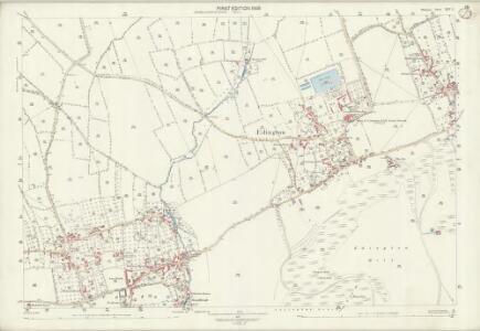 Wiltshire XLV.2 (includes: Bratton; Edington) - 25 Inch Map
