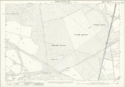 Berkshire XLVII.7 (includes: Windlesham; Winkfield) - 25 Inch Map