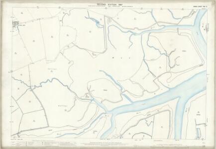 Essex (1st Ed/Rev 1862-96) XXX.9 (includes: Beaumont cum Moze; Thorpe Le Soken) - 25 Inch Map