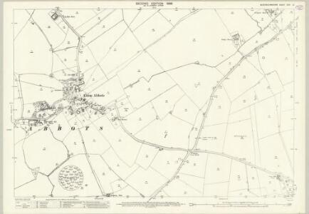 Buckinghamshire XXIV.13 (includes: Aston Abbots; Wingrave with Rowsham) - 25 Inch Map