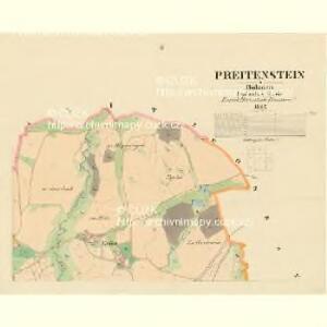 Preitenstein - c1401-1-002 - Kaiserpflichtexemplar der Landkarten des stabilen Katasters