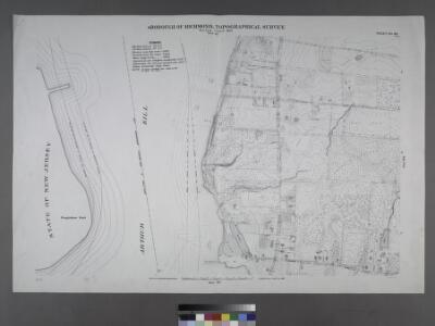 Sheet No. 88. [Includes Ploughshare Point, Fresh Kills Road (Arthur Kill Road) and (Charleston) Allentown Lane.]; Borough of Richmond, Topographical Survey.