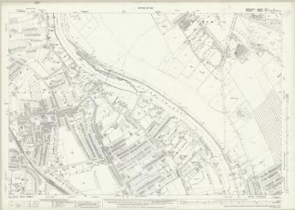 Middlesex XXV.4 (includes: Ham; Kingston Upon Thames; Twickenham St Mary The Virgin) - 25 Inch Map