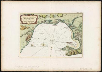 Plan de la Rade et Ville du Petit Goave dans l'Isle de St. Domingue
