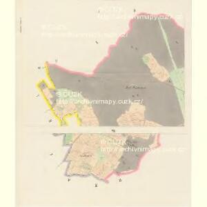 Mietschin - c4578-1-001 - Kaiserpflichtexemplar der Landkarten des stabilen Katasters
