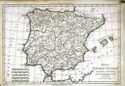 Mappa Hispaniæ antiquæ descripta