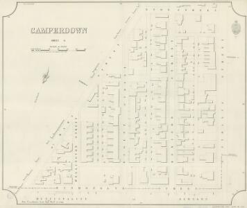 Camperdown, Sheet 6, 1890